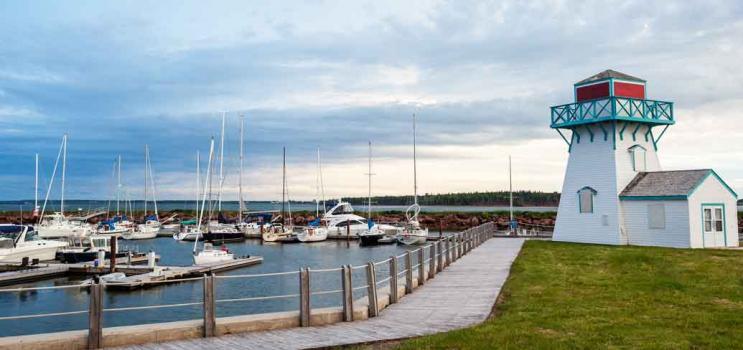 Summerside waterfront