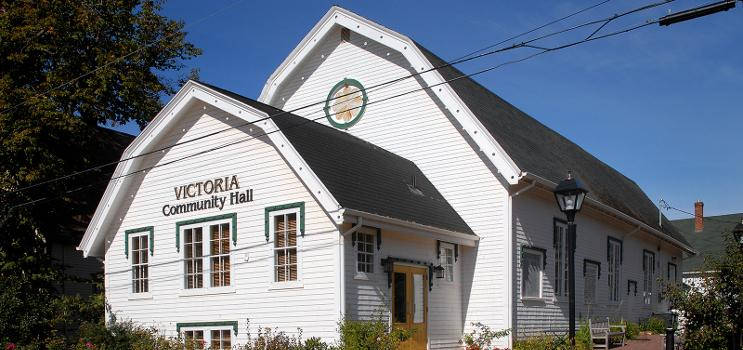 Outside view of Victoria Community Hall