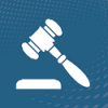 Icon showing a gavel