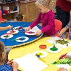 Children in a child care setting, PEI