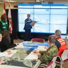 Officials working at the Joint Emergency Operations Centre in Charlottetown