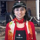 Owner of the Living Grace Café: Miranda Mak