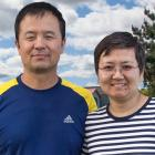 Owners of Meadowview Cottages: Eric Li and Emily Wang