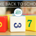 "Image of blocks with text ""Welcome Back to School"""