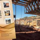 Photo shows cover of capital budget over a photo of building construction