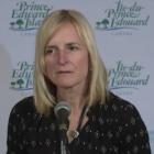 Screen capture of Dr. Heather Morrison, PEI Chief Public Health Officer