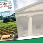 Image includes cover of 'Prince Edward Island 43rd Annual Statistical Review 2016' with image of Province House in background