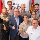 Minister Chris Palmer with Ignition Fund Grant recipients