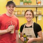 Suzanne Keough, Owner, and Ty McAdam.