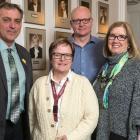 Dr. Mireille Lecours, Minister Robert Mitchell, Nancymarie Arsenault, Peter Howatt, Ellen Davies Ward, Sharon Ruckley