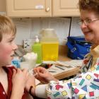 Image of a nurse immunizing a child