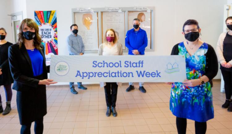 School Staff Appreciation Week 2021