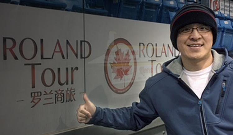 "Owner of Roland Tour: ""Roland"" Liu Fei"