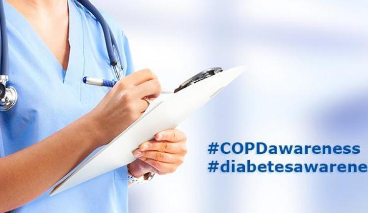 Novembre est le mois de la sensibilisation à la MPOC et au diabète au Canada
