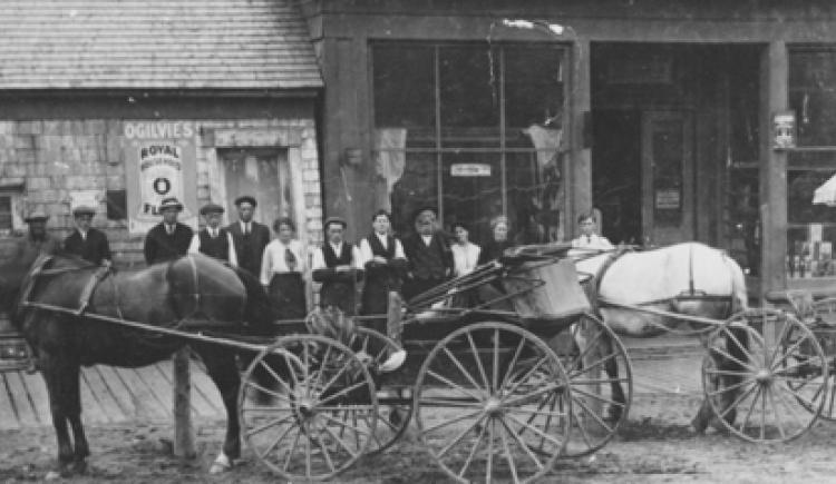 Myrick's Store, Alberton, ca. 1900