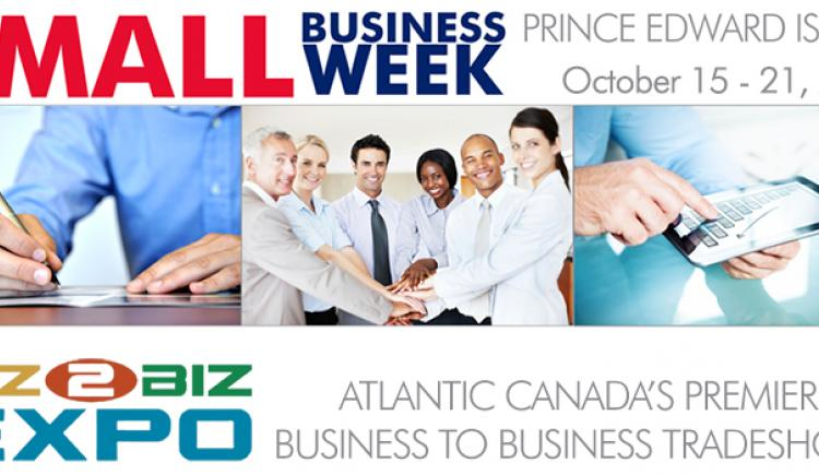 Small Business Week 2017 Logo and Biz to Biz Expo Logo