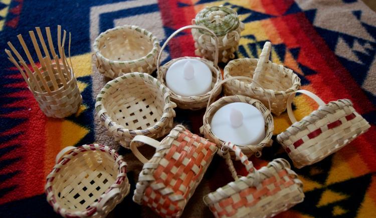 Indigenous Art Bank basket woven