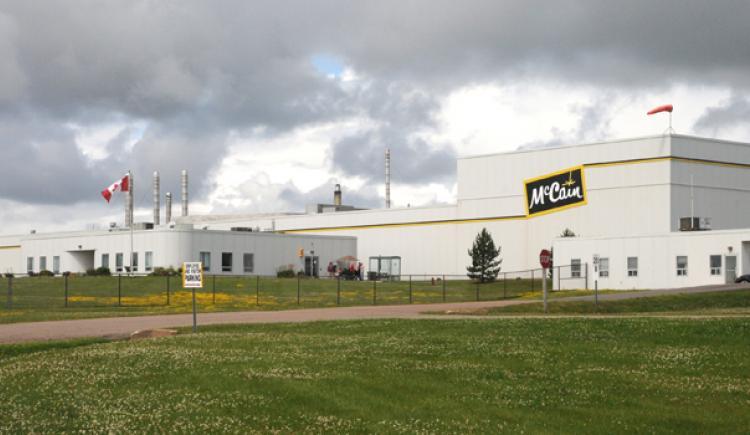 McCain's Plant Borden-Carleton Locaiton