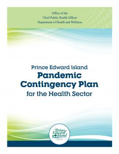 Cover image of PEI Pandemic Contingency Plan for the health sector