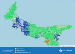 Island coverage broadband map
