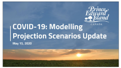 Thumbnail image of updated modeling projections and summary of methods