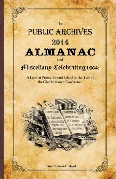 The cover of the Public Archives 2014 Almanac