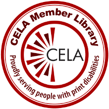 Centre for Equitable Library Access (CELA) logor