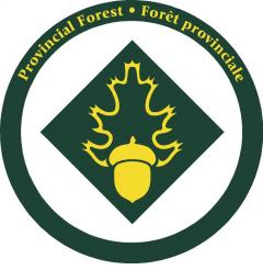 Provincial Forest sign